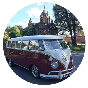 Ruby Vintage VW Split Screen Microbus