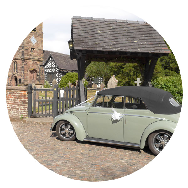 Go Vintage VW Wedding Cars - Karman